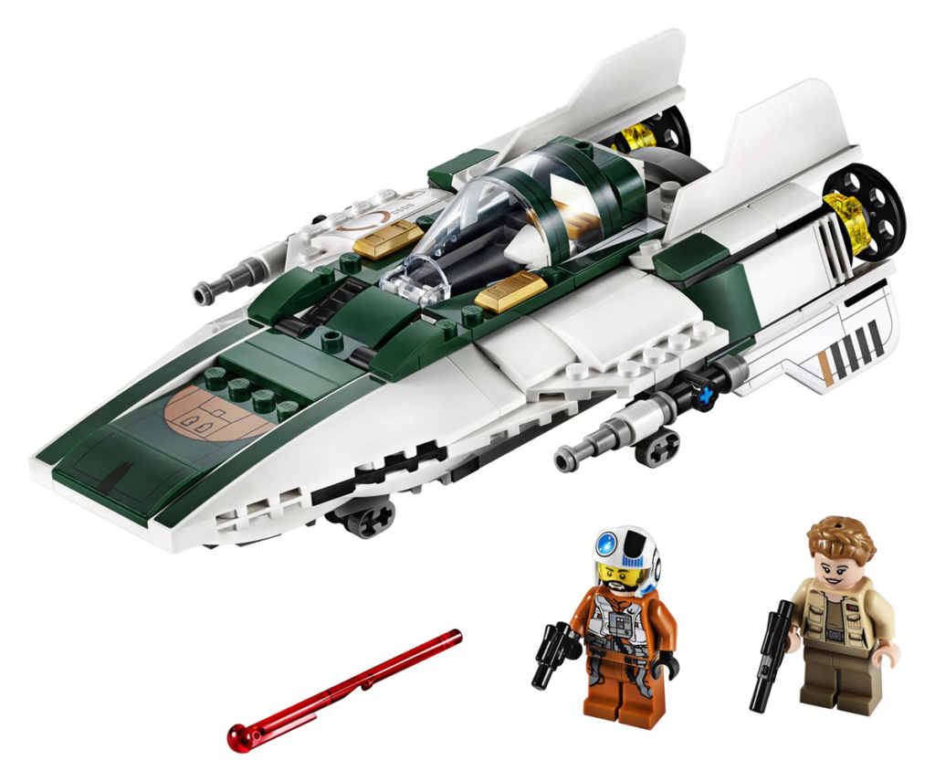 LEGO Star Wars - 75248 - Resistance A-Wing Starfighter 75248_12
