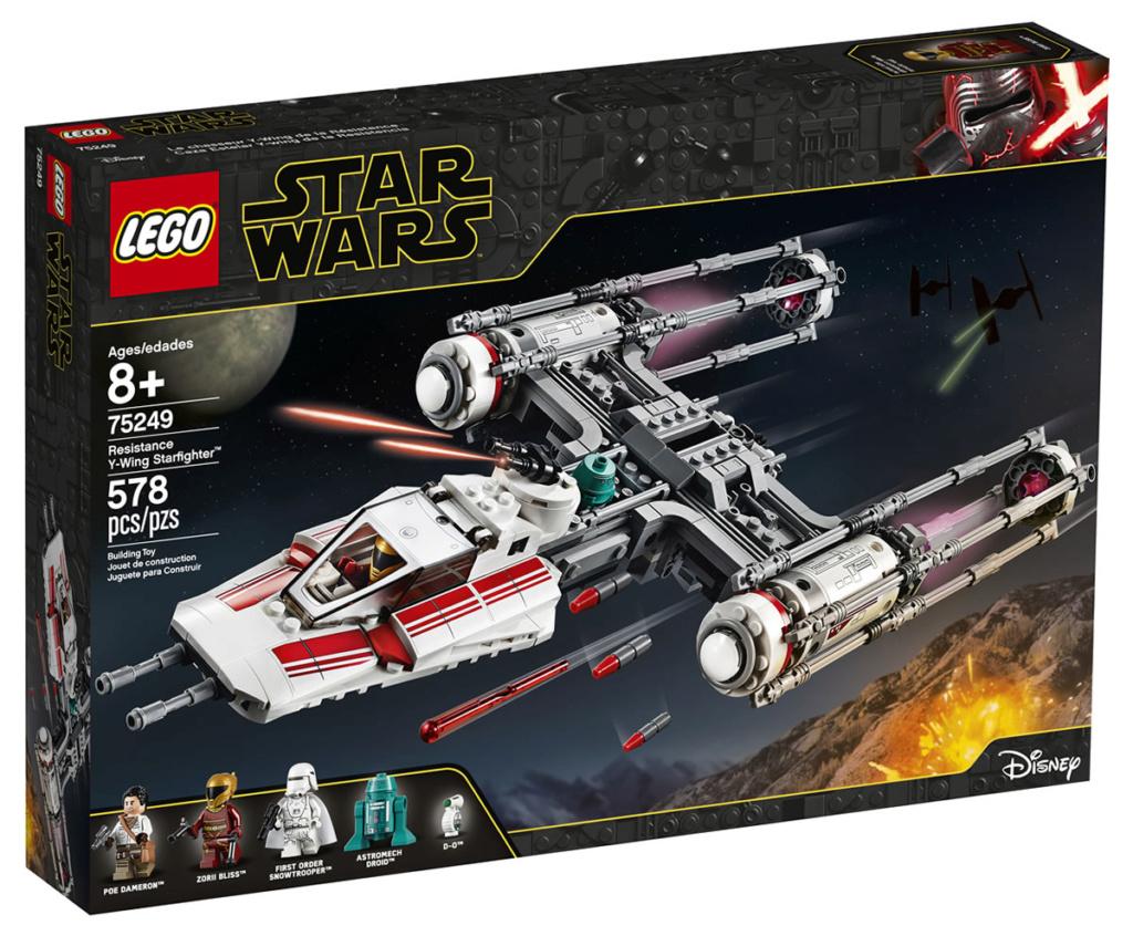LEGO Star Wars - 75249 - Resistance Y-Wing Starfighter 75249_10