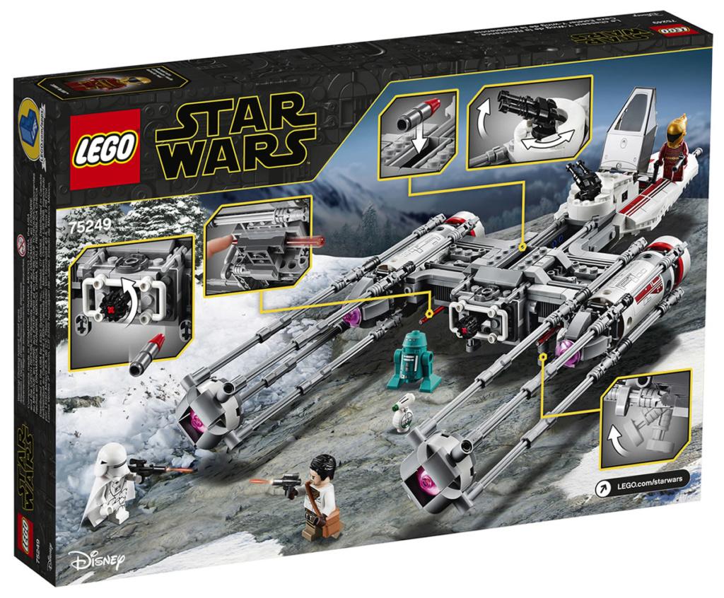 LEGO Star Wars - 75249 - Resistance Y-Wing Starfighter 75249_11