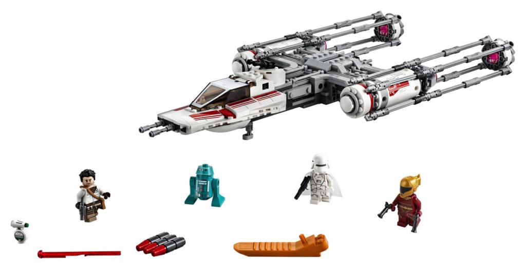 LEGO Star Wars - 75249 - Resistance Y-Wing Starfighter 75249_12