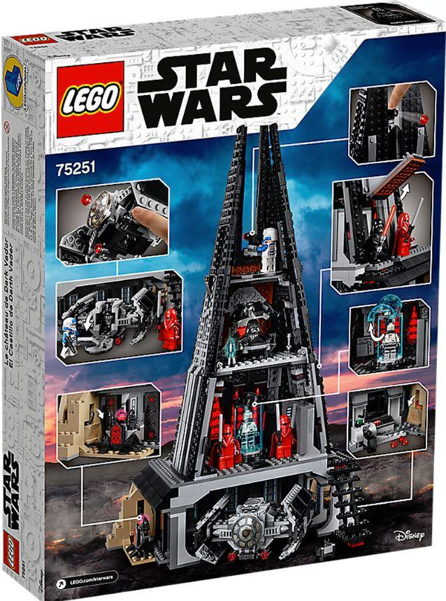LEGO STAR WARS - 75251 - Darth Vader's Castle 75251_11
