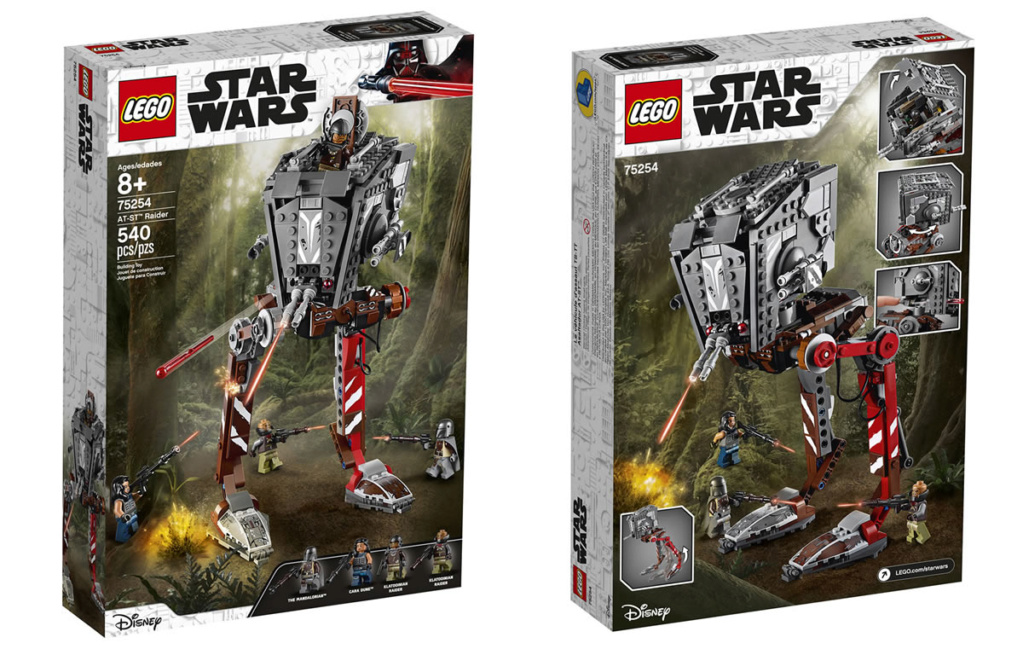 LEGO Star Wars The Mandalorian - 75254 - AT-ST Raider 75254_10