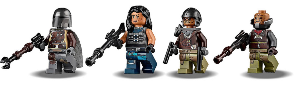 LEGO Star Wars The Mandalorian - 75254 - AT-ST Raider 75254_17