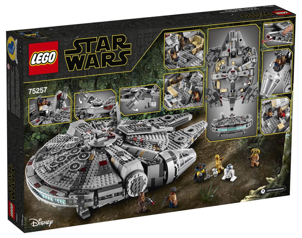 LEGO Star Wars - 75257 - Millennium Falcon 75257_11