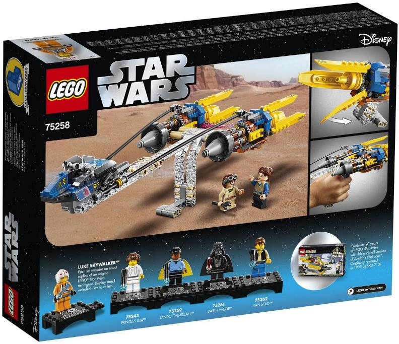 Lego Star Wars - 75258 – Anakin's Podracer 20th Anniversary 75258_12