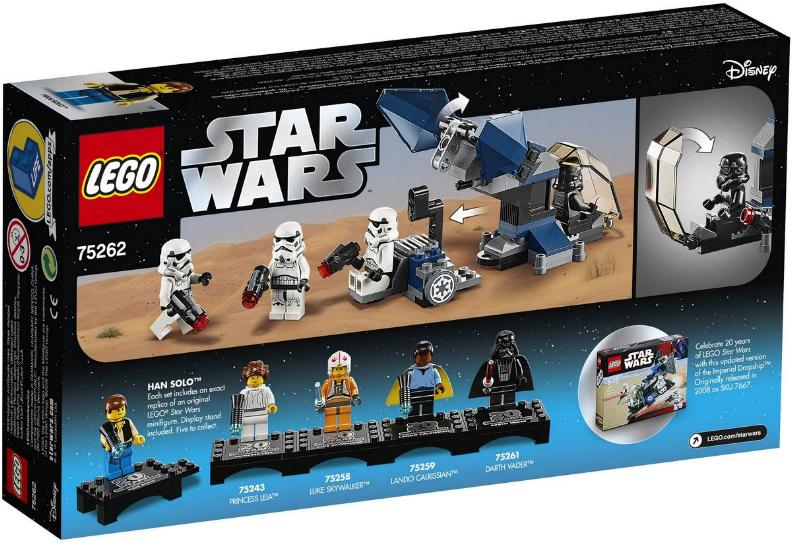 Lego Star Wars - 75262 – Imperial Dropship 20th Anniversary 75262_11