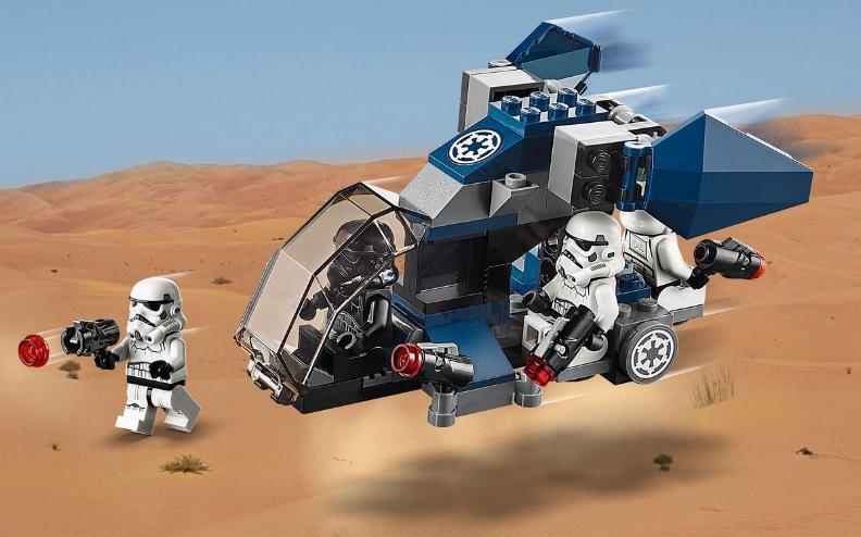Lego Star Wars - 75262 – Imperial Dropship 20th Anniversary 75262_12