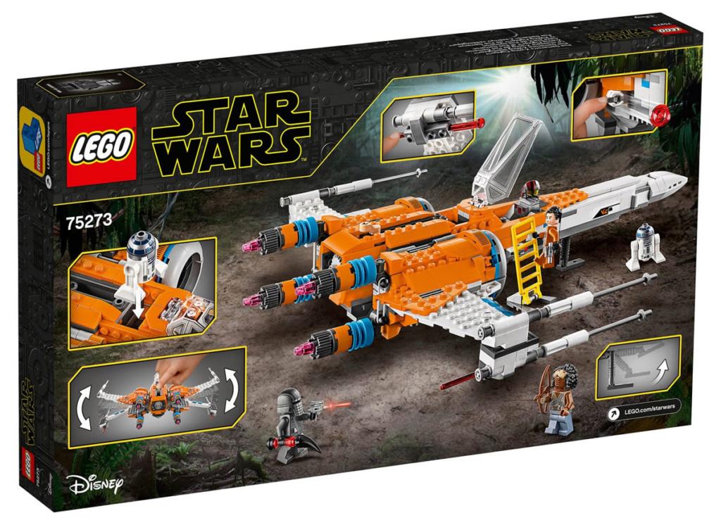 LEGO Star Wars - 75273 - Poe Dameron Resistance Y-Wing 75263_11