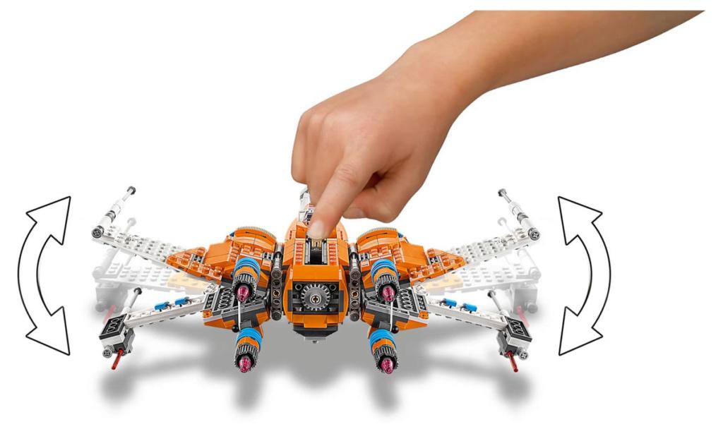 LEGO Star Wars - 75273 - Poe Dameron Resistance Y-Wing 75263_15