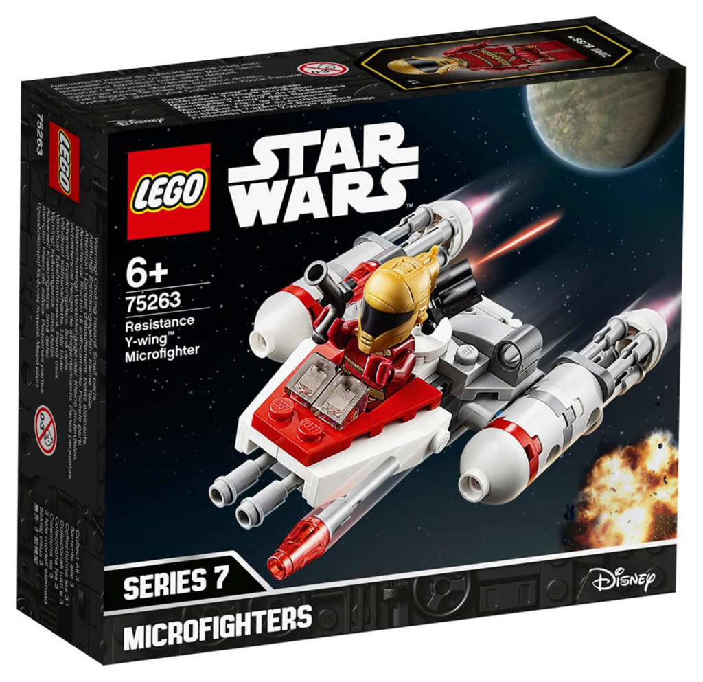 LEGO Star Wars - 75263 - Resistance Y-Wing Microfighter 75263_17