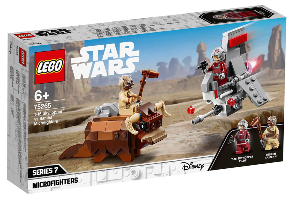 LEGO Star Wars - 75265 - T-16 Skyhopper vs Bantha  75265_10