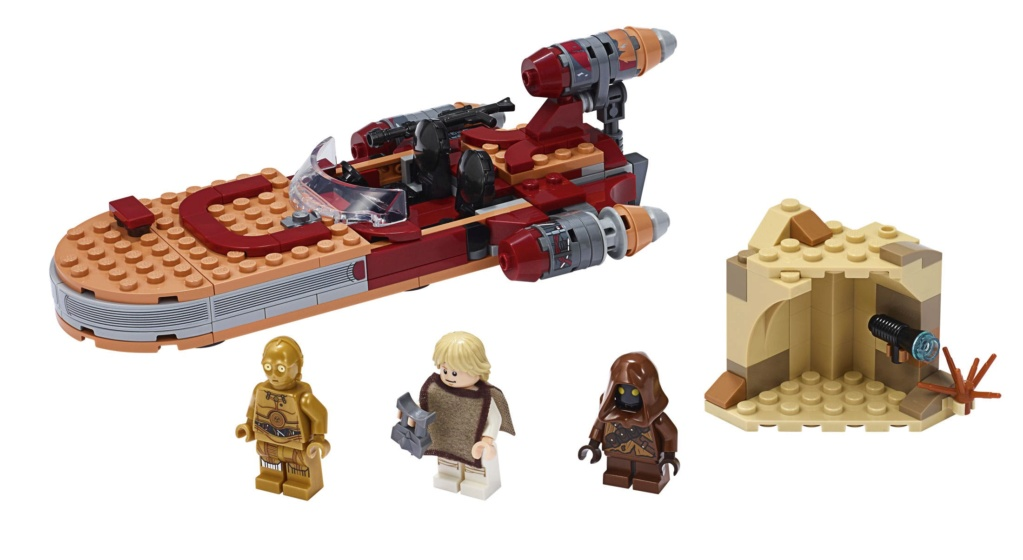 Lego Star Wars - 75271 – Luke Skywalker's Landspeeder 75271_10