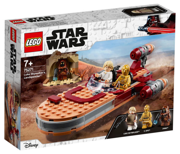 LEGO Star Wars - 75271 - Luke Skywalker's Landspeeder 75271_11