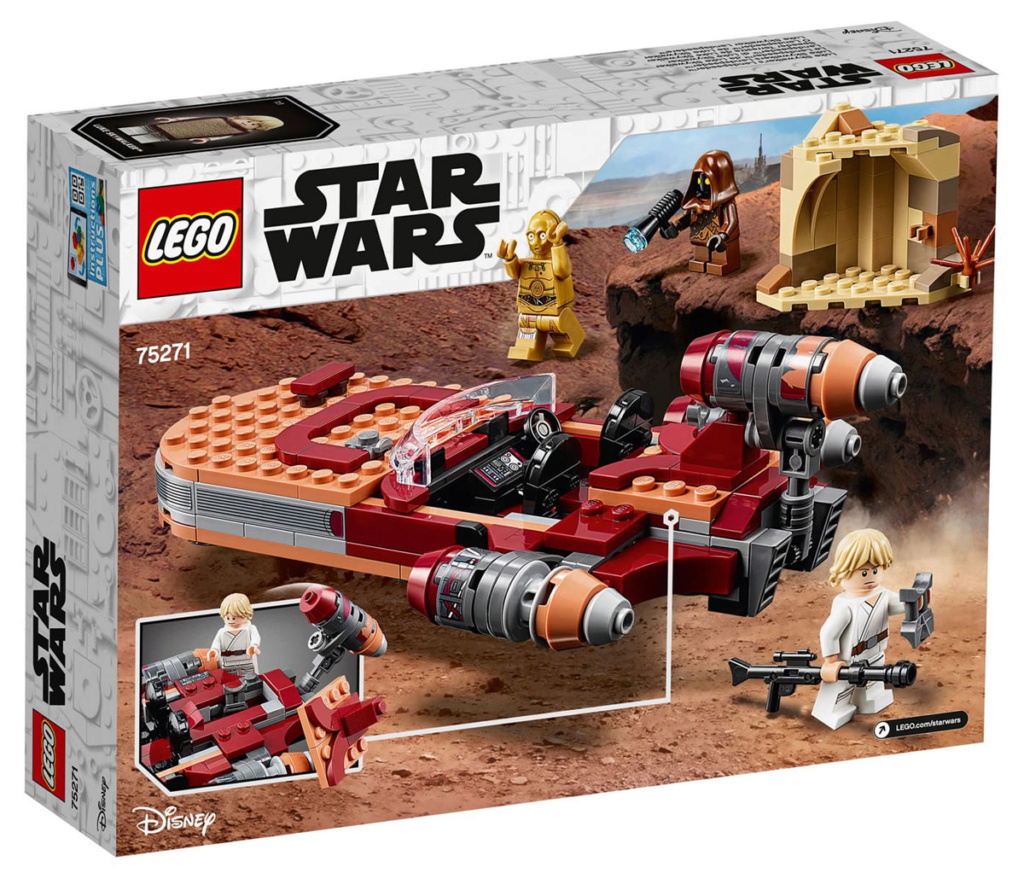 LEGO Star Wars - 75271 - Luke Skywalker's Landspeeder 75271_12