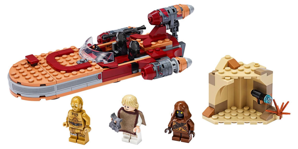 LEGO Star Wars - 75271 - Luke Skywalker's Landspeeder 75271_13