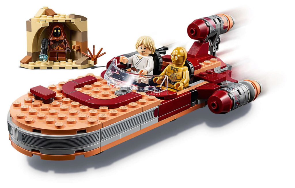 LEGO Star Wars - 75271 - Luke Skywalker's Landspeeder 75271_14