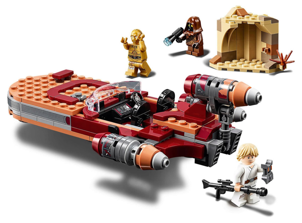 LEGO Star Wars - 75271 - Luke Skywalker's Landspeeder 75271_15