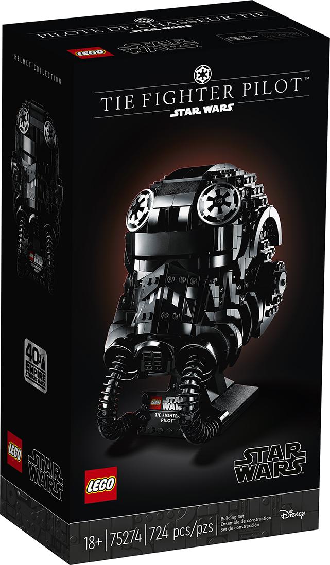 LEGO Star Wars - 75274 - TIE Fighter Pilot (Helmet) 75274_10