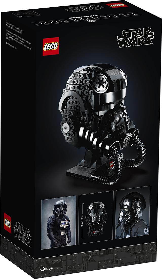 LEGO Star Wars - 75274 - TIE Fighter Pilot (Helmet) 75274_11