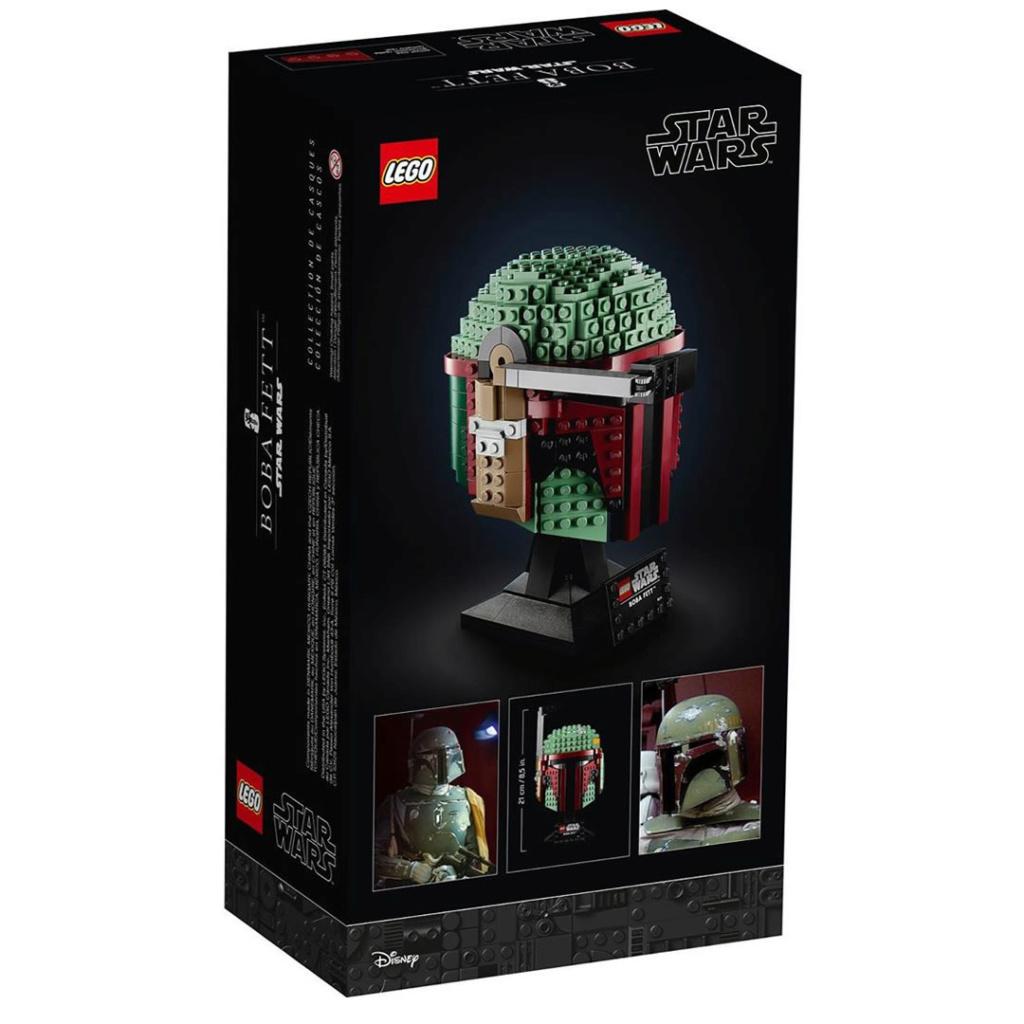 LEGO Star Wars - 75277 - Boba Fett Bust (Helmet) 75277_10