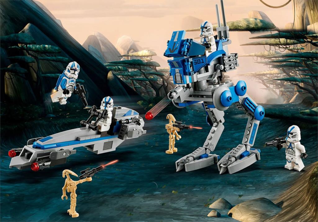 LEGO Star Wars - 75280 - 501st Legion Clone Troopers 75280_10