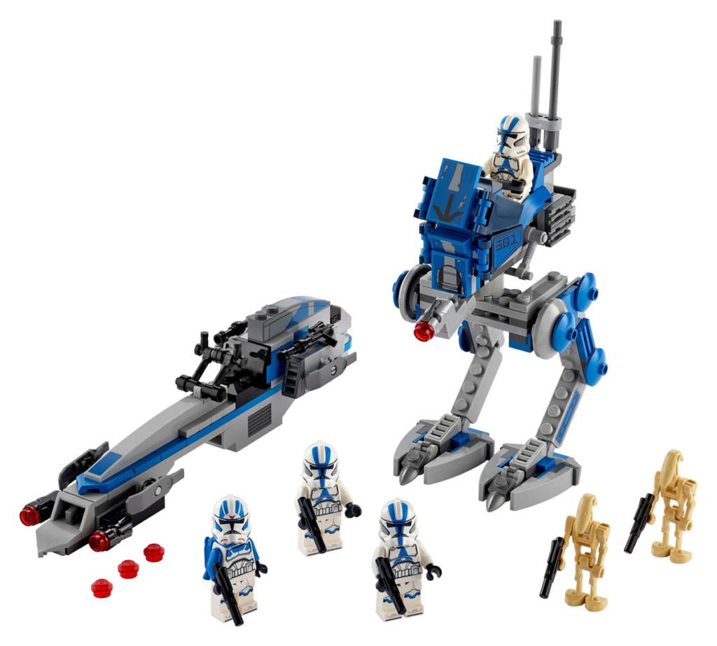LEGO Star Wars - 75280 - 501st Legion Clone Troopers 75280_11