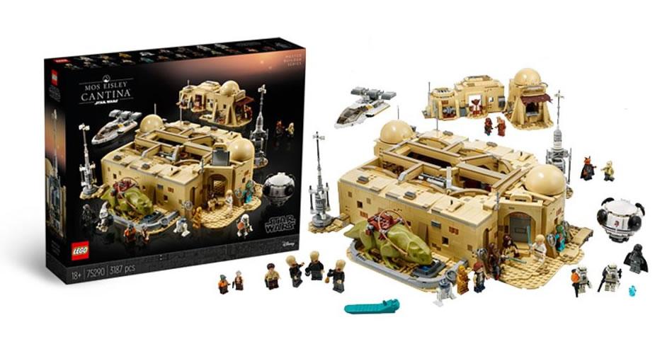 LEGO Star Wars - 75290 - Mos Eisley Cantina 75290_10