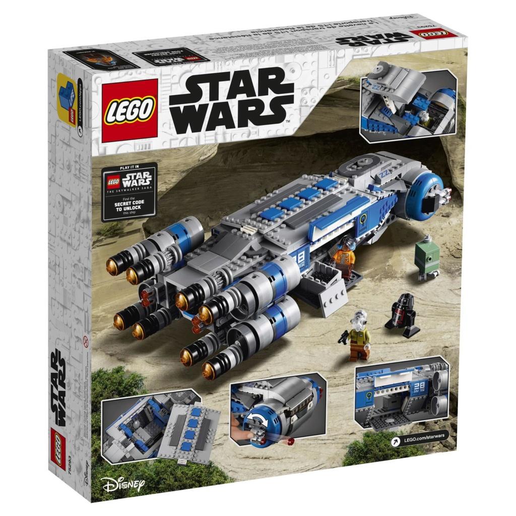 LEGO Star Wars - 75293 - Resistance I-TS Transport 75293_12
