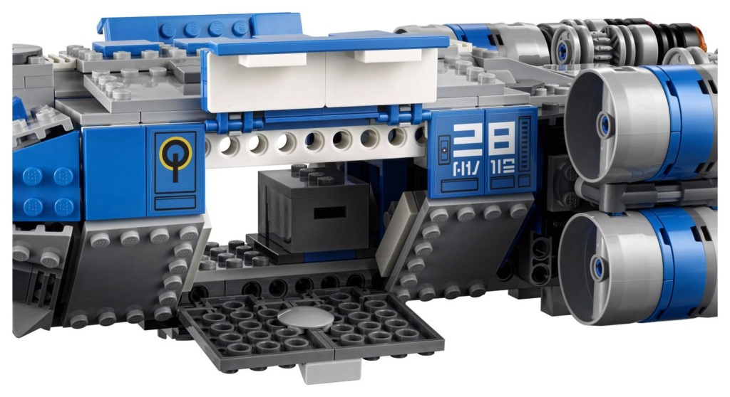LEGO Star Wars - 75293 - Resistance I-TS Transport 75293_19