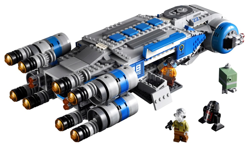 LEGO Star Wars - 75293 - Resistance I-TS Transport 75293_22