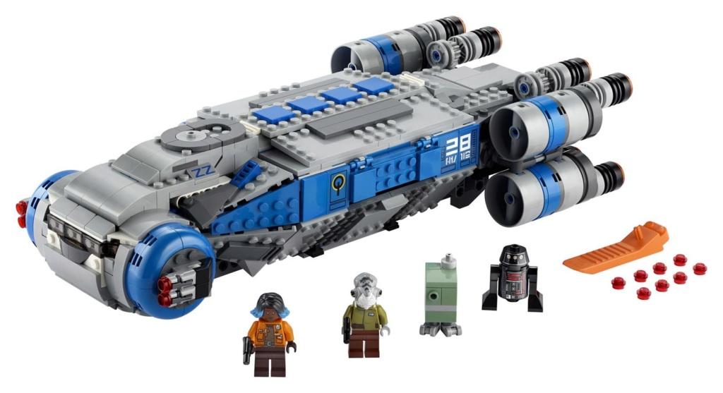 LEGO Star Wars - 75293 - Resistance I-TS Transport 75293_23
