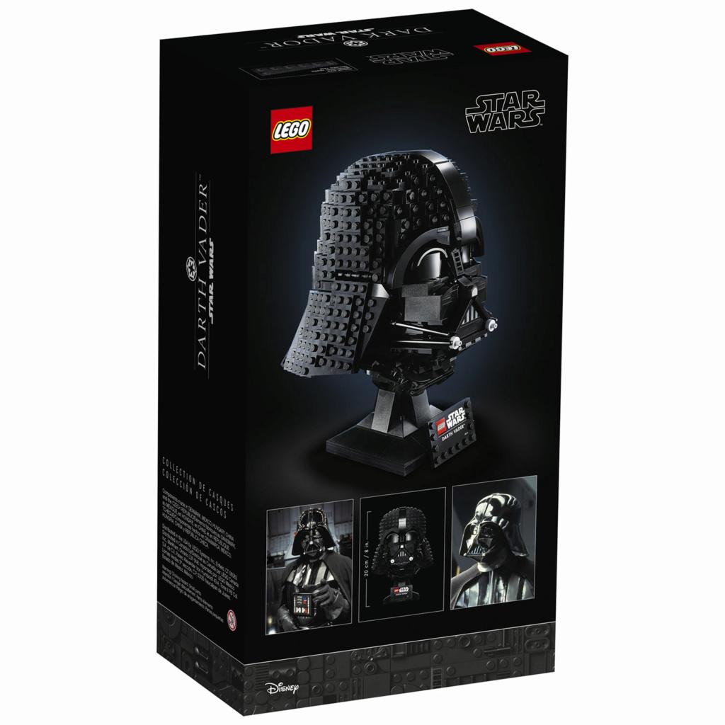 Lego Star Wars - 75304 - Darth Vader Helmet 75304_10