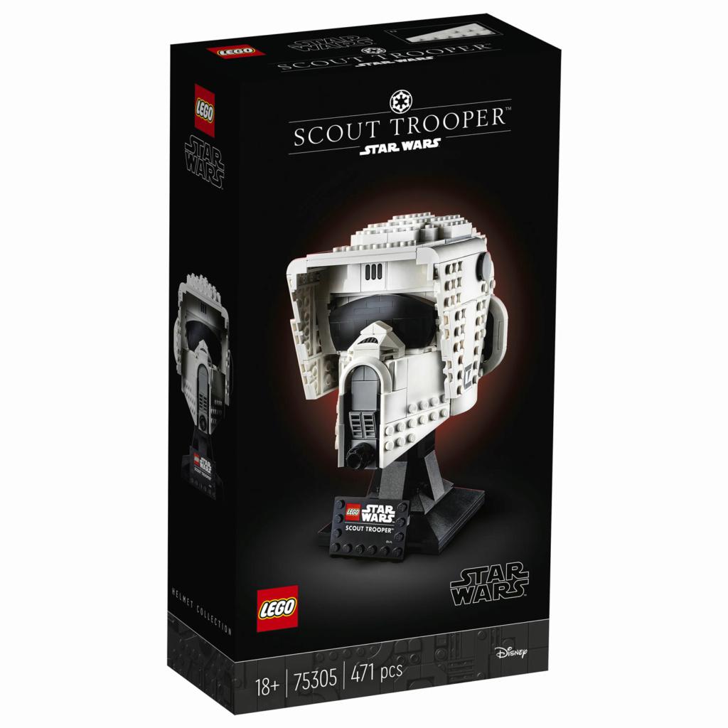 Lego Star Wars - 75305 - Scout Trooper Helmet 75305_12