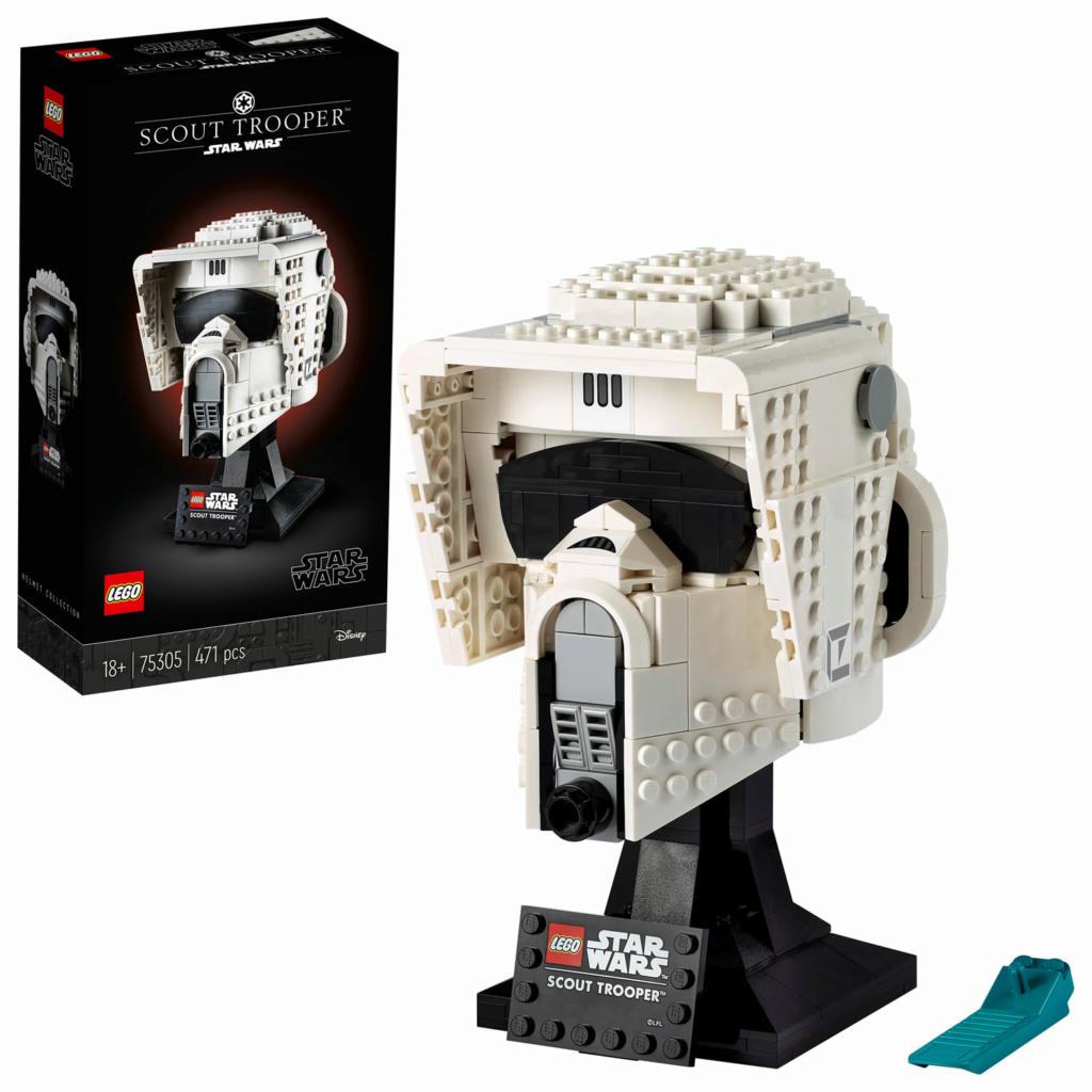 Lego Star Wars - 75305 - Scout Trooper Helmet 75305_13