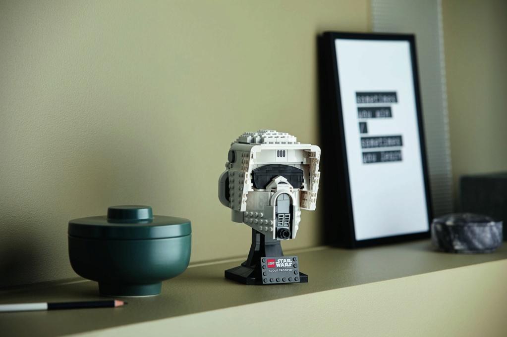 Lego Star Wars - 75305 - Scout Trooper Helmet 75305_15