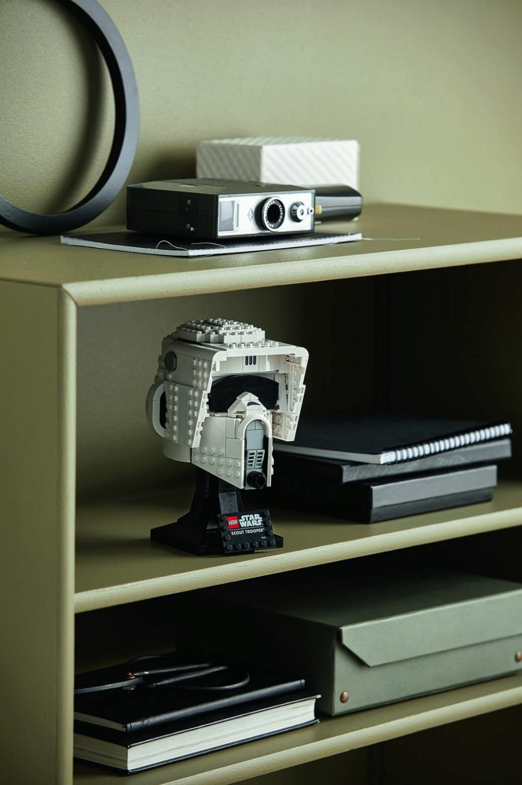 Lego Star Wars - 75305 - Scout Trooper Helmet 75305_19