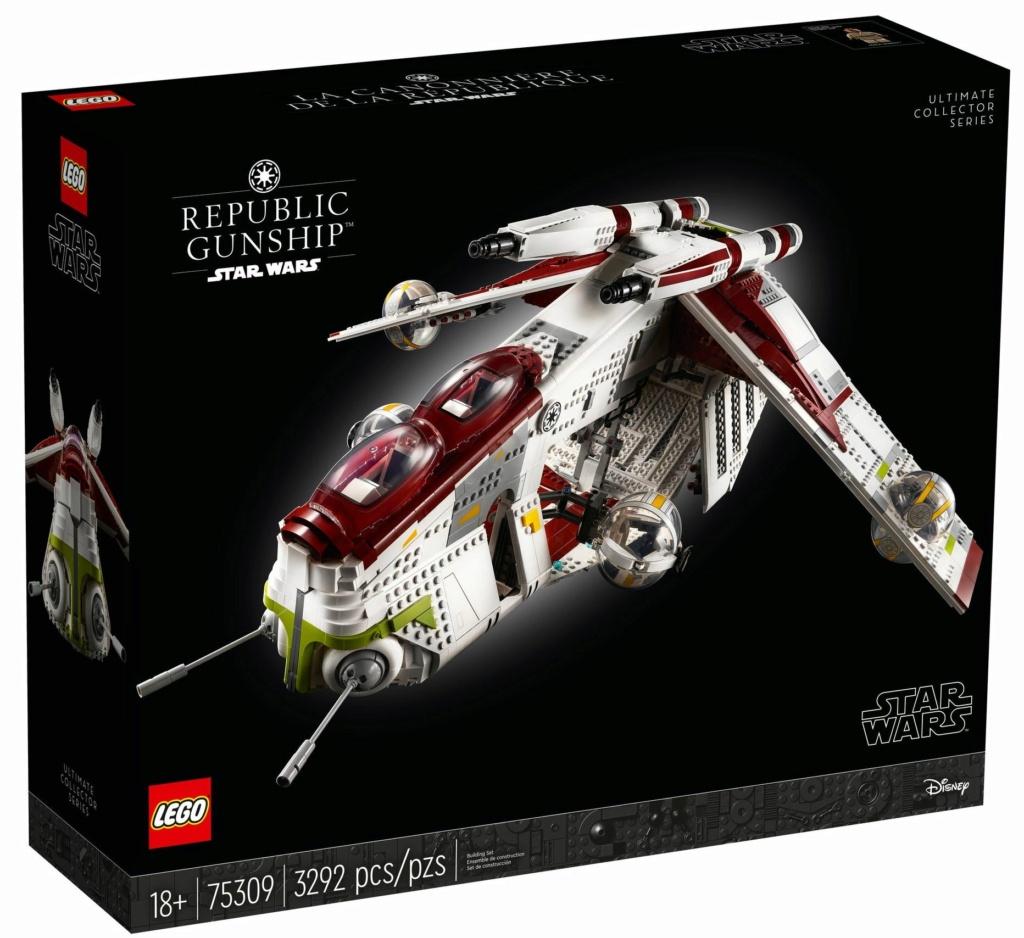 Lego Star Wars - 75309 - UCS Republic Gunship 75309_20
