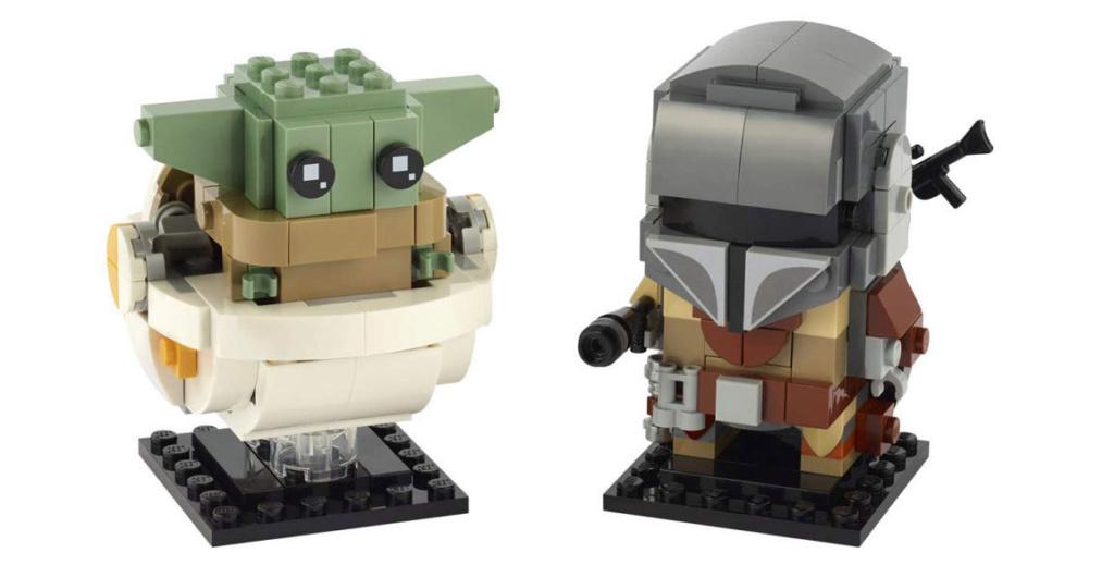 LEGO StarWars 75317 BrickHeadz The Mandalorian & The Child 75317_10