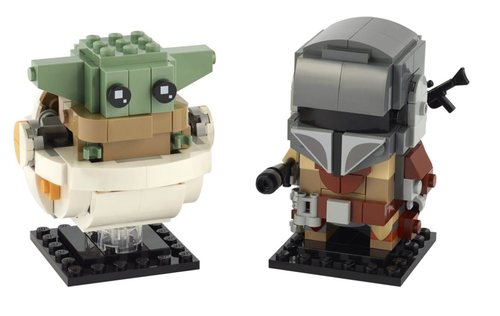 LEGO StarWars 75317 BrickHeadz The Mandalorian & The Child 75317_12