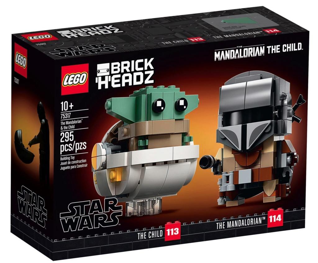 LEGO StarWars 75317 BrickHeadz The Mandalorian & The Child 75317_13