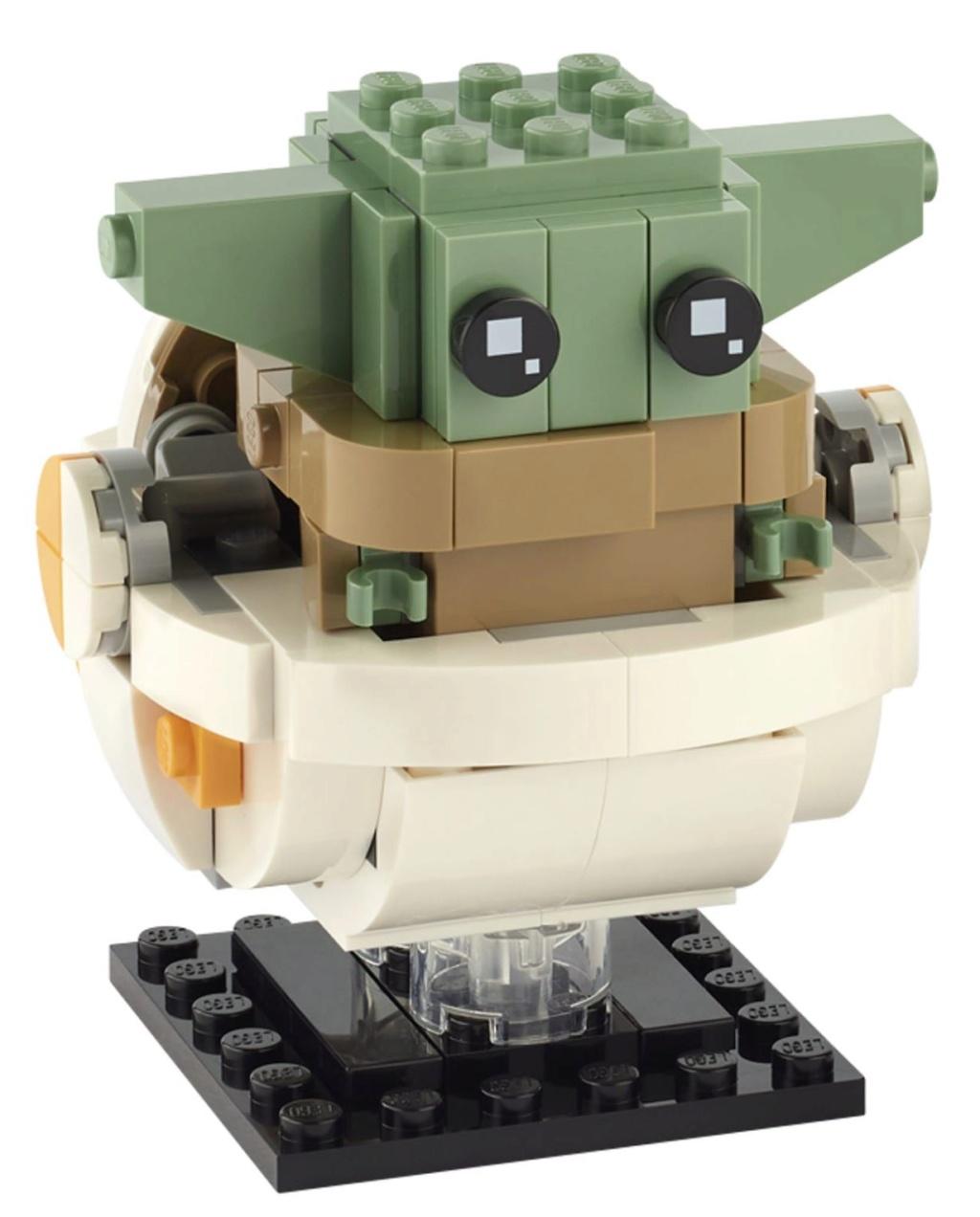 LEGO StarWars 75317 BrickHeadz The Mandalorian & The Child 75317_14