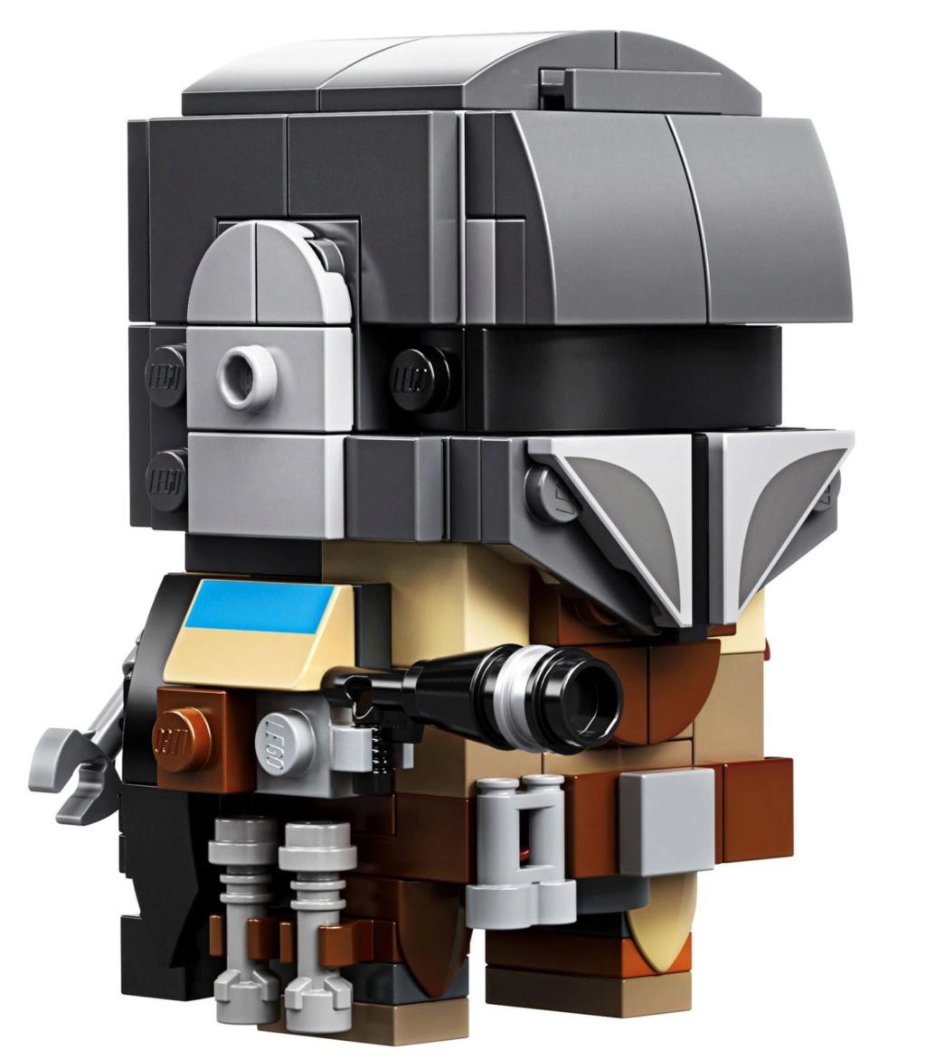 LEGO StarWars 75317 BrickHeadz The Mandalorian & The Child 75317_16