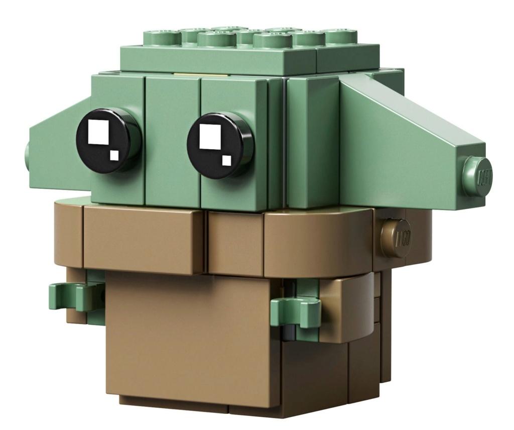 LEGO StarWars 75317 BrickHeadz The Mandalorian & The Child 75317_17