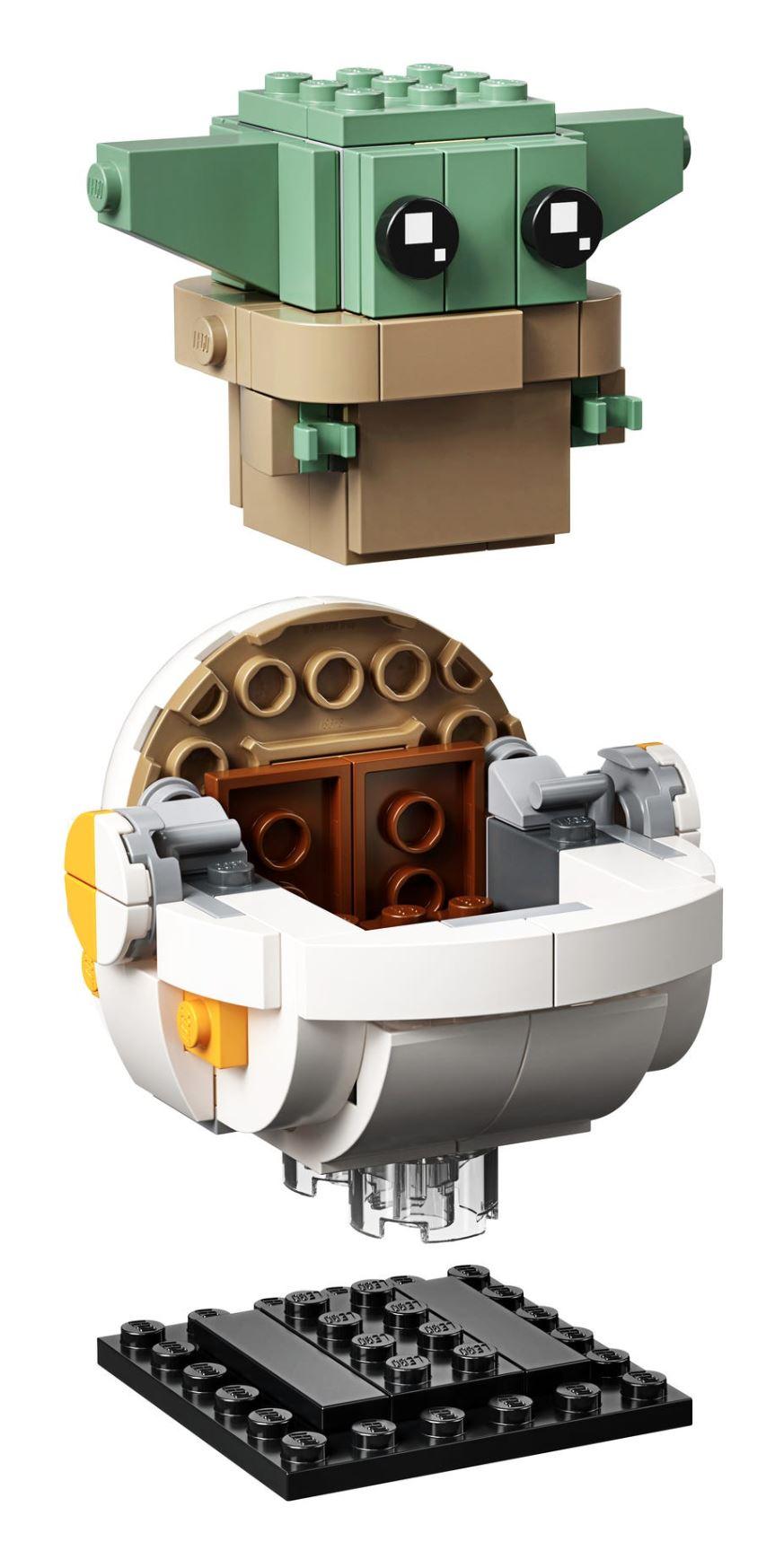 LEGO StarWars 75317 BrickHeadz The Mandalorian & The Child 75317_18