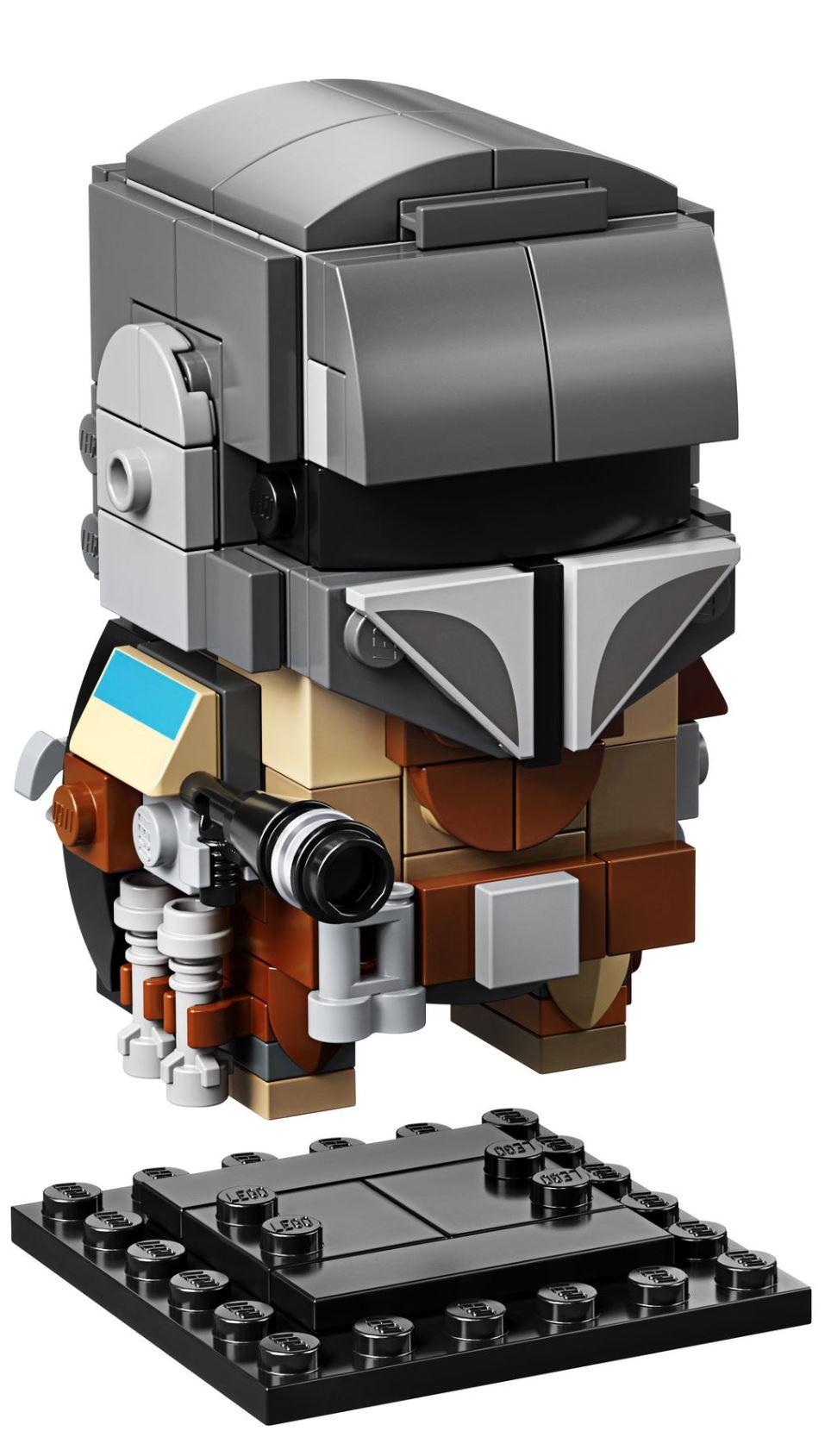 LEGO StarWars 75317 BrickHeadz The Mandalorian & The Child 75317_19