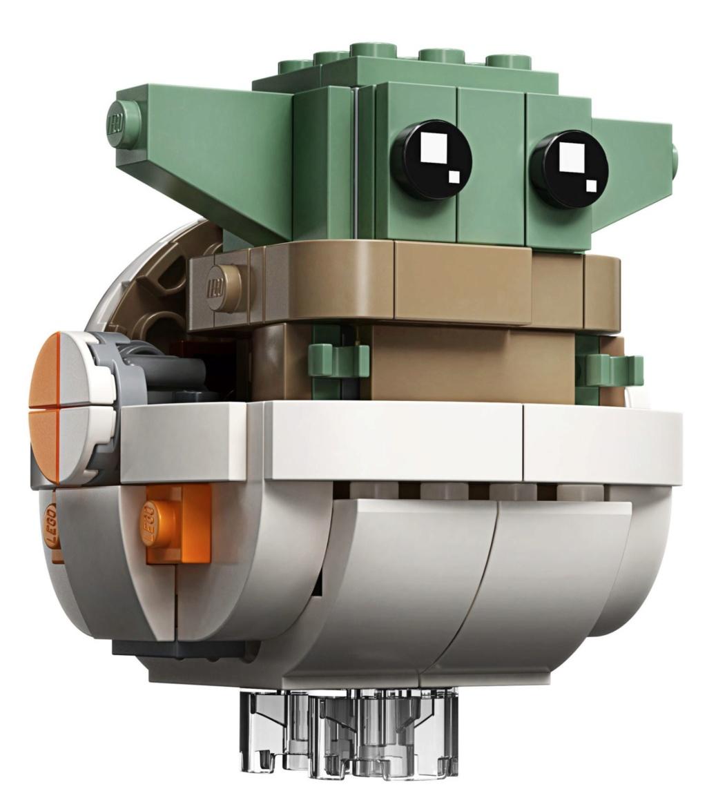 LEGO StarWars 75317 BrickHeadz The Mandalorian & The Child 75317_20