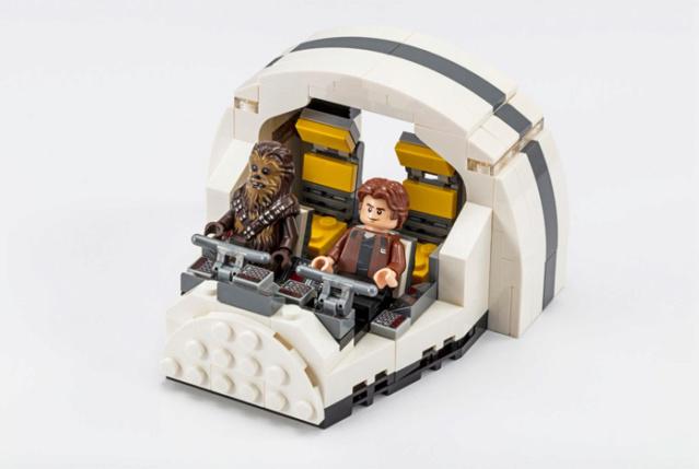 LEGO SOLO A SW STORY - 75512 - Millennium Falcon Cockpit  75512_10