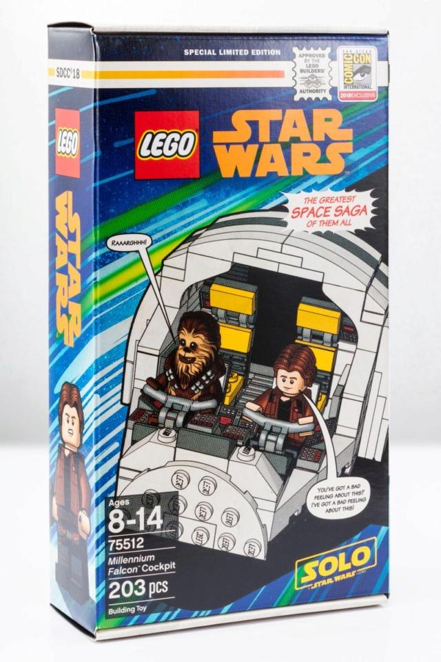 LEGO SOLO A SW STORY - 75512 - Millennium Falcon Cockpit  75512_11