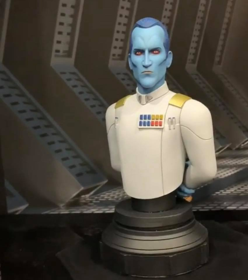 Star Wars Admiral Thrawn Bust 1:7 Scale - Gentle Giant 85228310