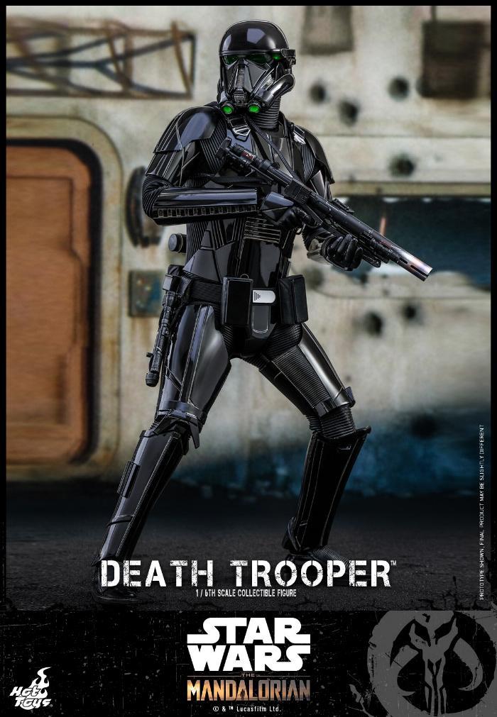 Death Trooper Figure - 1:6 - The Mandalorian Hot Toys 86802310